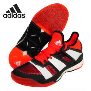 Details zu adidas Stabil X Men's Indoor Shoes Badminton Coral Indoor Sport Racquet BY2521