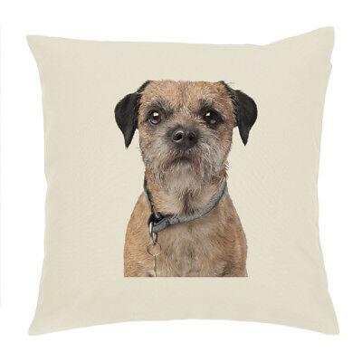 """CS Boston Terrier Dog Breed Cotton Drill Cushion Cover//Cushion 18/""""x18/"""" Gift Idea"""