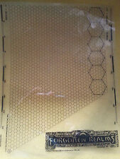 Advanced Dungeons and Dragons Forgotten Realms Plastic Hex Overlay