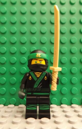 5 LEGO Brand New Ninjago Mini Figures Ninja Training Weapon Headgear Body Armour
