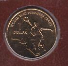 2005 $1 UNC Coin World War 1939-1945 Peace ex Uncirculated Set no mint mark