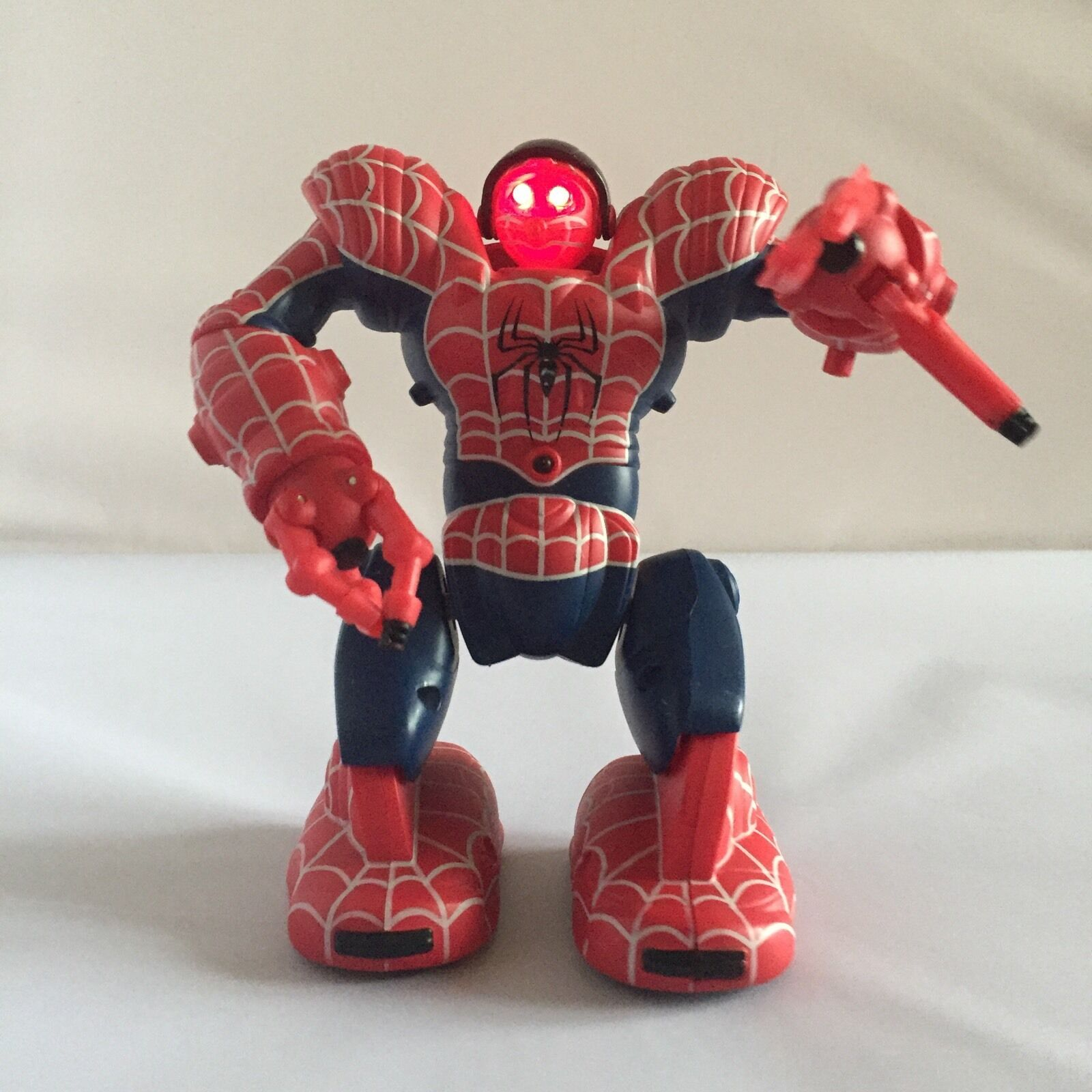 2007 Marvel Characters Mini Spidersapien WowWee Toys Spiderman 3 3 3 The Movie 7  669821