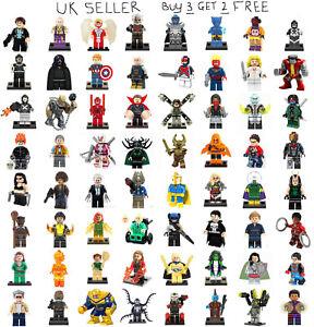 Marvel-Minifigures-The-Avengers-Deadpool-Guardians-of-the-Galaxy-Mini-Figure
