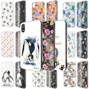 NALIA-Handy-Hulle-fur-iPhone-XR-Motiv-Case-Schutz-Cover-Silikon-Tasche-TPU-Etui