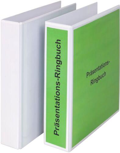 EICHNER 10 x Präsentations-Ringbuch mit Hebelmechanik div Füllhöhen