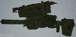 Iraq-Iraqi-Army-Republican-Guard-Military-Web-Ammo-Belt-Frog-Pouch-Canteen-Set