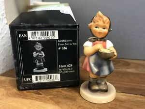 Hummel-Figurine-629-Young-Farmer-3-5-16in-With-1-Choice-Top-Condition