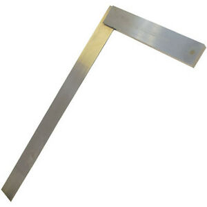 Pro 450mm Hardened Steel Engineers Square Tool Right Angle 90