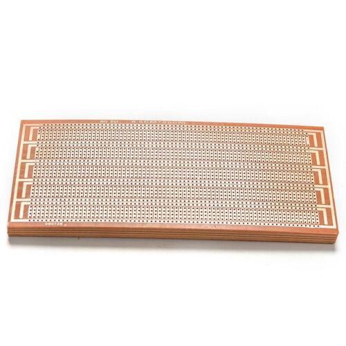 10X DIY Prototype Paper PCB Universal Experiment Matrix Circuit Board 8.5x20 WD
