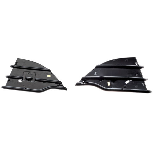 2013-2016 Ford Escape Front Bumper Hole Gloss Black Cover Inserts Right Left OEM