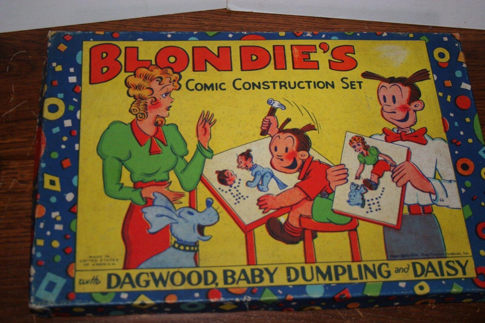 Jahrgang 1934 blondie - bau spielen in original - box