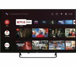 """JVC LT-43CA890 Android TV 43"""" Smart 4K Ultra HD HDR LED TV with Google Assistant"""