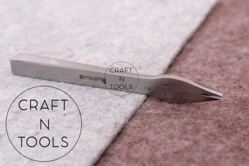 Size#14 1.92mm Vergez Blanchard Pricking Irons Leather Stitching Punch Chisel