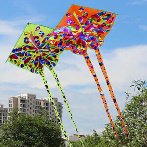 Kids-kite-Toy-Creative-Butterfly-Kite-WithTail-Easy-to-fly-Outdoor-Sport-Toys-FT