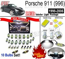 10 Light Super Bright LED SMD Interior Light Kit Package Porsche 996 Error Free