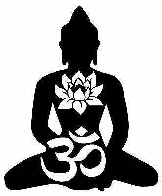 MANY SIZES and COLORS Aum Om Symbol Sign Yoga Buddhism Spiritual Car Truck Suv Rear Window Glass Decal Sticker Laptop V5