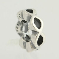 New Pandora Bead Charm - Sterling Silver 790867 Open Sky Retired ALE 95