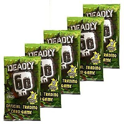 DEADLY 60 SERIES 2 TRADING CARDS RARE /& SUPER RARE FOIL CARDS ...CHOOSE
