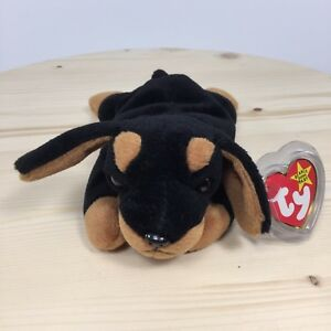 f3f53b98cde Image is loading Ty-Beanie-Baby-Doby-1996-Retired-style-4110-