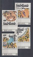 1972 Brazil UM/M Social development set of stamps (SG 1412/5)