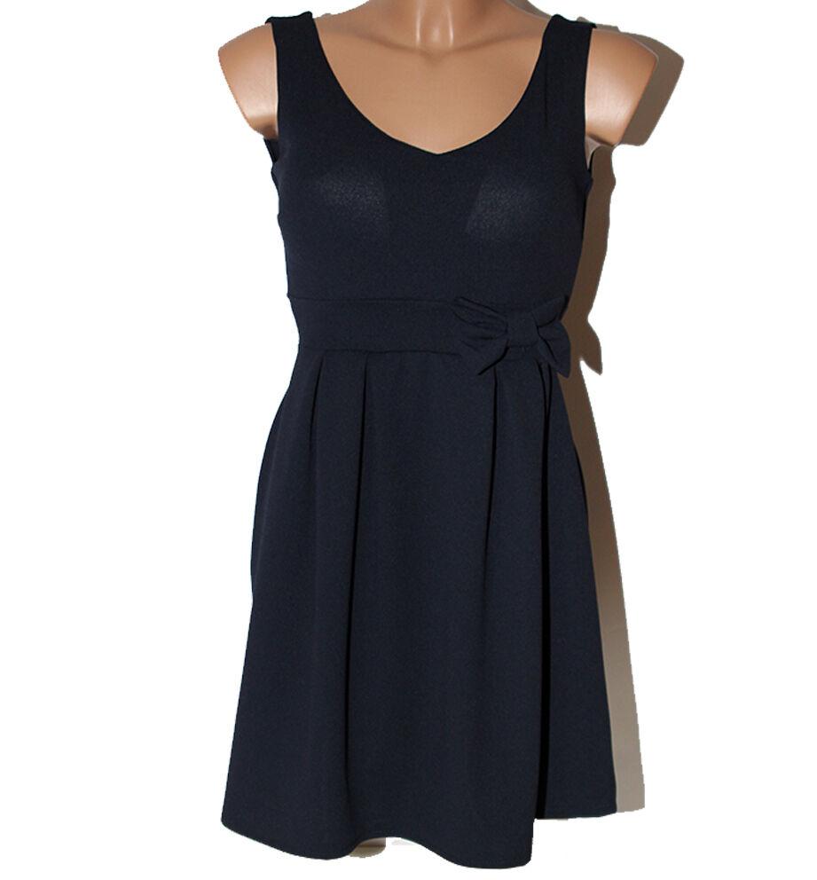 Kleid Frau blau WH Fashion s Kleid kurz