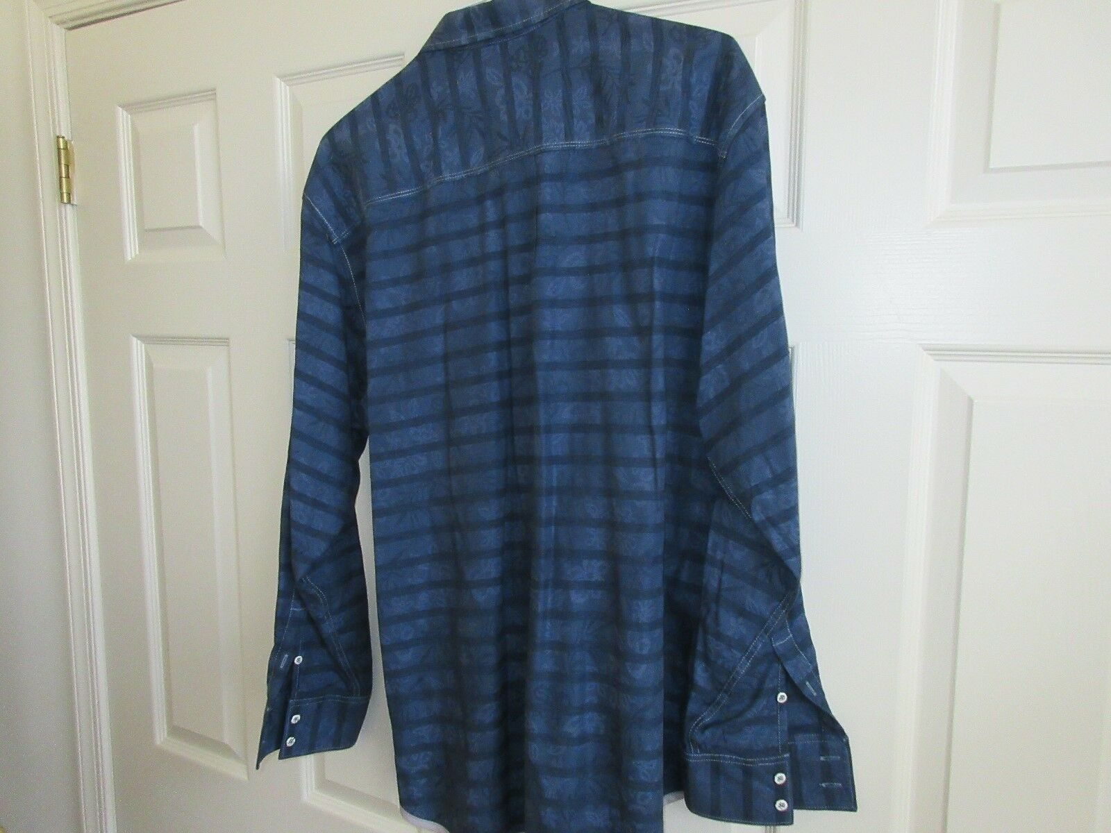 Tommy Bahama Jeans , Men's Long Sleeve Shirt , XL/TG ,