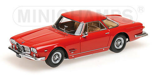 MASERATI 5000 GT ALLEMANO 1962 Rouge MINICHAMPS 1 43 NEW