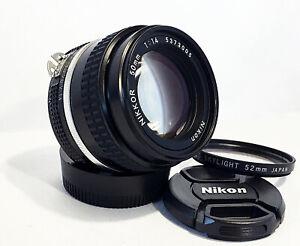 NIKON-NIKKOR-50mm-f-1-4-Ai-S-Fast-Manual-Standard-Prime-Lens-MINT