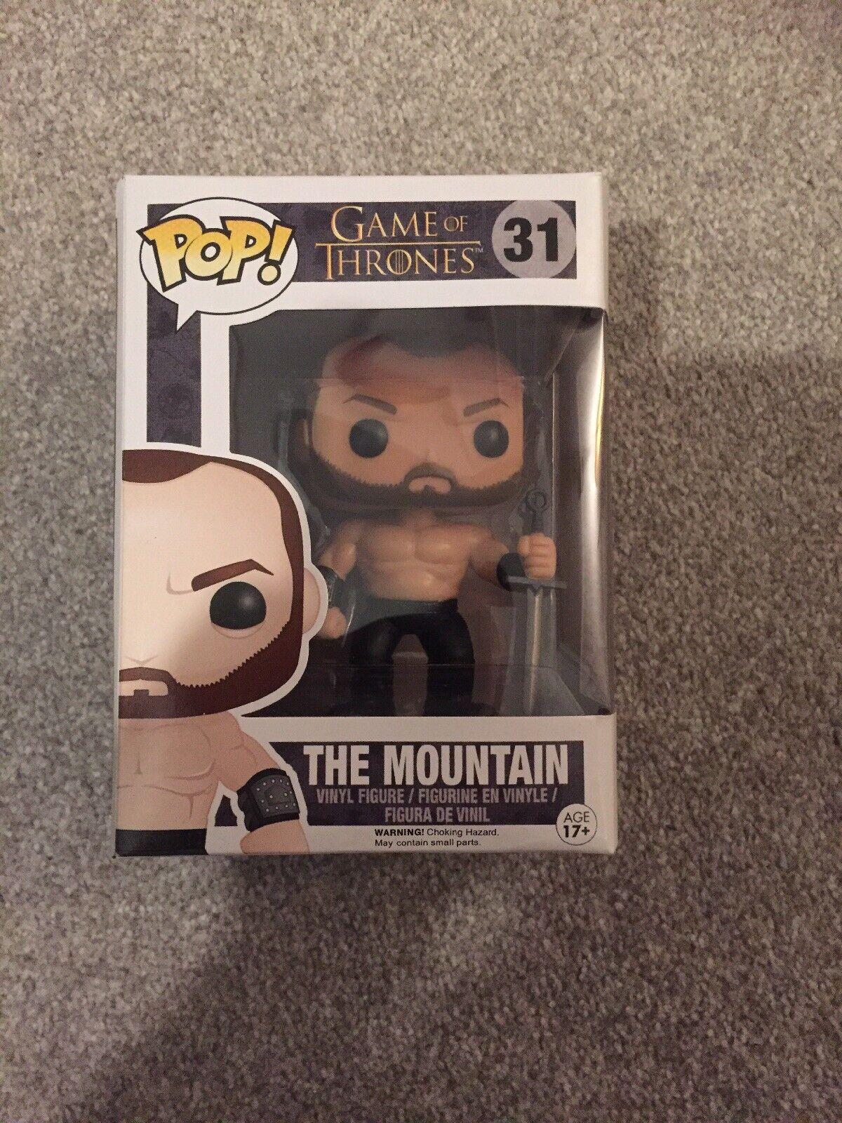Game Of Thrones Funko Pop  Figure no. 31 The Mountain