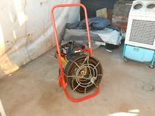 General Easy Rooter Main Line Drain Machine 100 Of Cable Watch Video Running