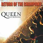 Return of the Champions [Digipak] by Paul Rodgers/Queen (CD, Sep-2005, 2 Discs, Hollywood)