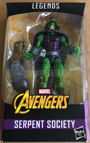 NEW MARVEL LEGENDS SERIES AVENGERS SERPENT SOCIETY BUILD THANOS ACTION FIGURE