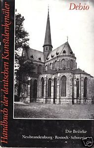 Handbuch-der-Deutschen-Kunstdenkmaeler-Die-Bezirke-Neubrandenburg-Rostock-Schw