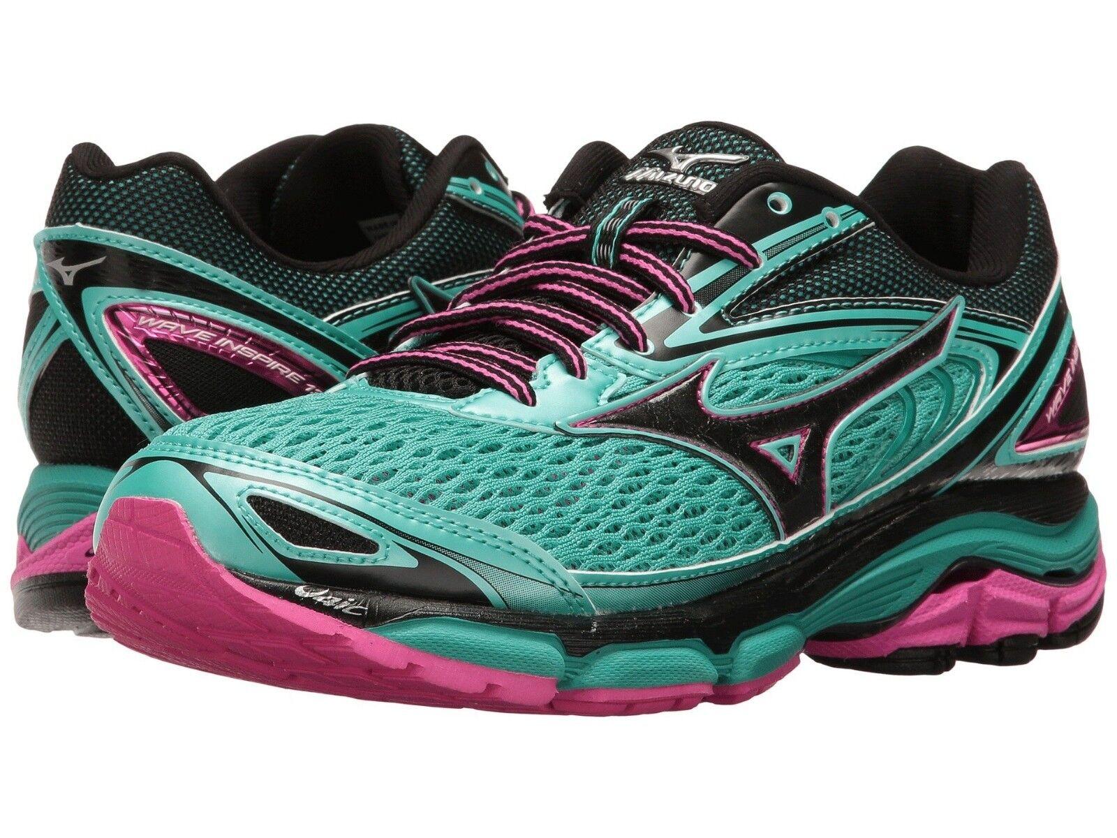 Mizuno 410877.4F4U Wave Inspire Inspire Inspire 13 verdes Para Mujer Zapatos Para Correr Talla 6.5 US 36 EU  Envío rápido y el mejor servicio