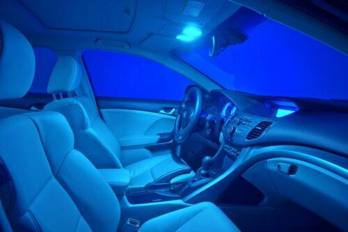 LED 5050 Light Blue 168 10000K Two Bulbs Front Side Marker Parking Replace JDM