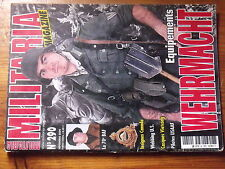 $$z Revue Armes Militaria N°290 Wehrmacht  70e BAF  insignes Canada  Webbing US