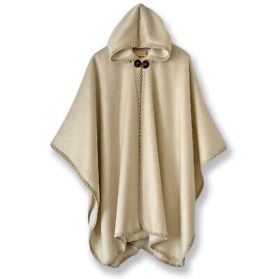 Poncho cape handmade in alpaca wool