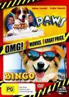 Bingo / Paws (omg Pack) Movie DVD R4 Caroline Gillmer