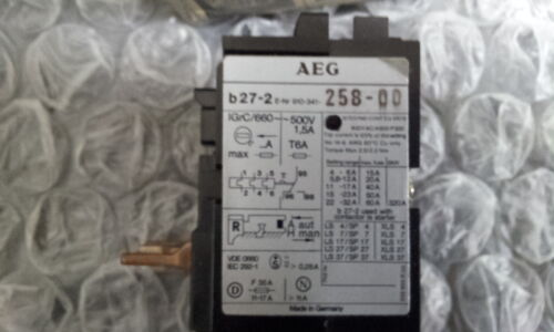 AEG b27-2  22-32A THERMAL OVERLOAD RELAY 910-341-258