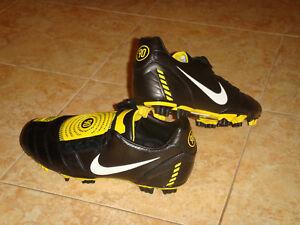 Nike Total 90 Shoot II Extra FG Soccer Shoes Football T90 Black ... 70ac590b3ed6a