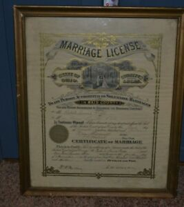 What are the requirements for us to apply for our marriage license in Toledo, Ohio?