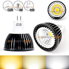 Black Aluminum Housing MR16 6W LED COB Spot down light lamp bulb Cool White N218