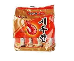 Korean-Ebisen-Nongshim-Shrimp-Snack-Mini-Pack-30g-x-4-Beer-Relish-Side-dish