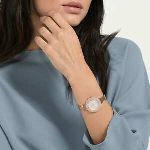 Details about Swarovski Watch 5484073 Crystal Rose, Rose Gold Tone Band,  Swiss Made RRP $599