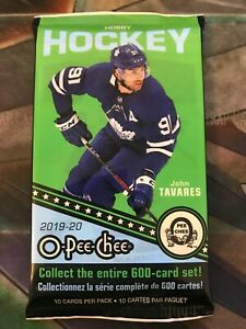 2019-20-O-Pee-Chee-Upper-Deck-NHL-Hockey-Cards-Booster-Pack-1-Pack