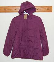 Lands' End Bright Aubergne Reversible Poly Filled Jacket Toddler 2t