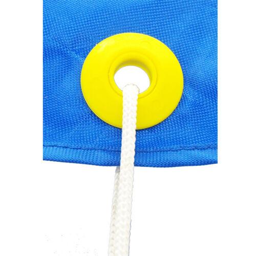 Rondelle scellé pour bâche /& Tapis 60 Gris Plastique Snap oeillets 12 mm