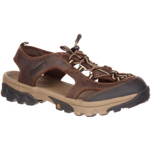 Rocky RKS0298 Endeavor Point Leather High-abrasion Toe Outdoor Hiking Sandal