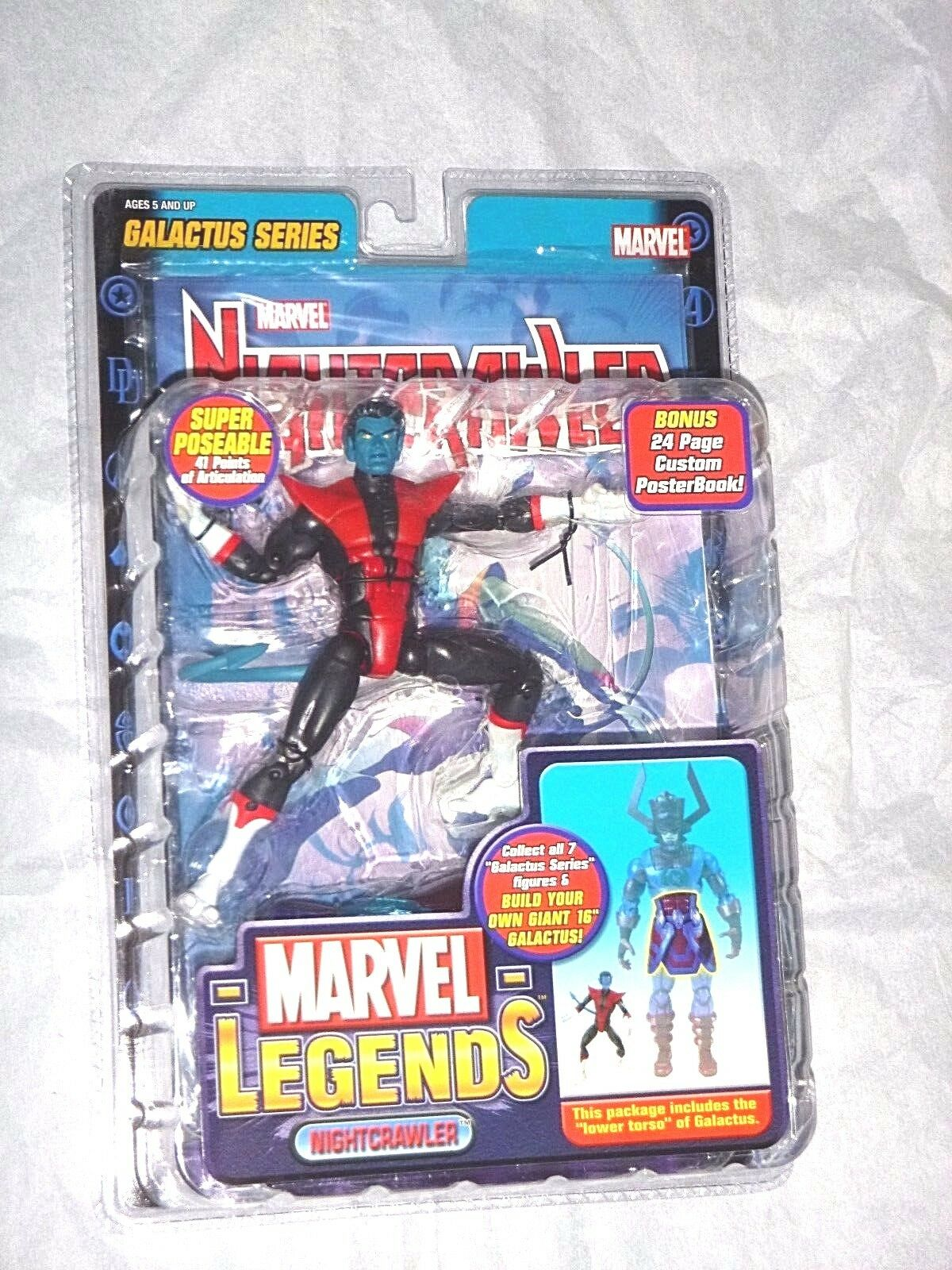 Marvel - legenden nightcrawler galactus serie nightcrawler marvel - universum neue