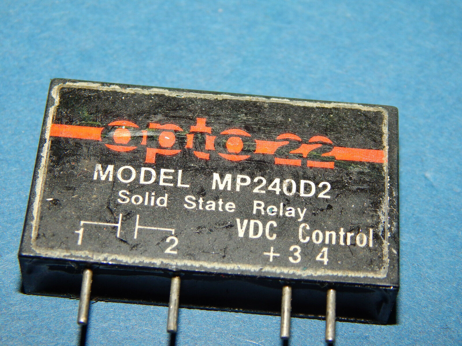 Opto 22 Mp120d2 Solid State Relay Ssr 140 Vac 2 Amp Load Dc Control Dcsolidstaterelays Relaycontrol Controlcircuit Circuit Ebay